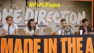 One Direction, ONE DIRECTION Conferencia de prensa México COMPLETA #MadeInTheAM #1DPremiosTelehit #EnPOPados #1DMX