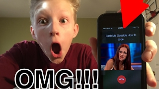 CALLING THE CASH ME OUTSIDE HOW BOW DAH GIRL!!!!*She Actually Answered And Tried To Sue Me!!!*