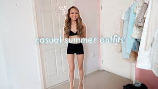CASUAL SUMMER OUTFITS💧summer Fashion Lookbook 2020