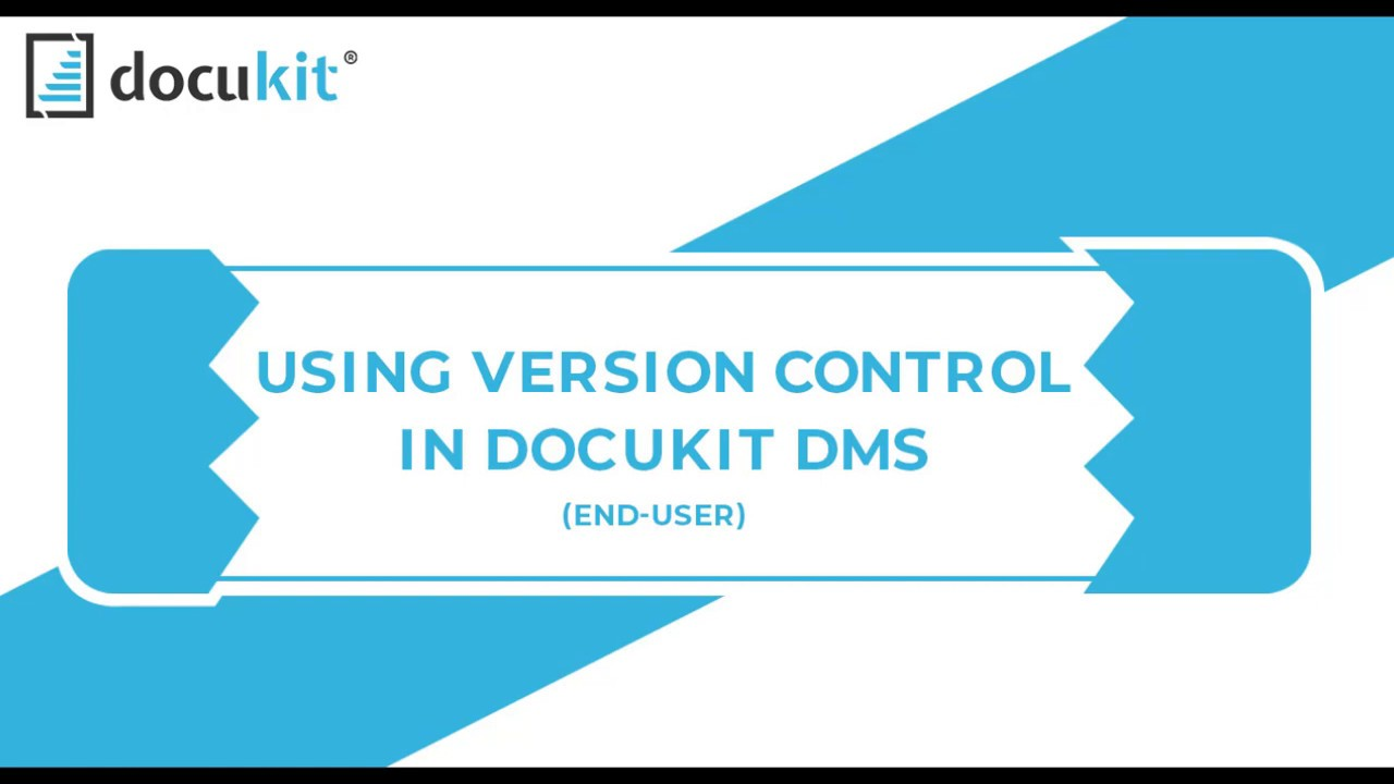 Docukit Version Control