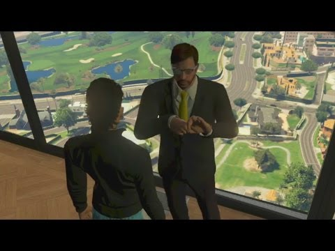 Grand Theft Auto V - Amanda CAUGHT (EASTER EGG)