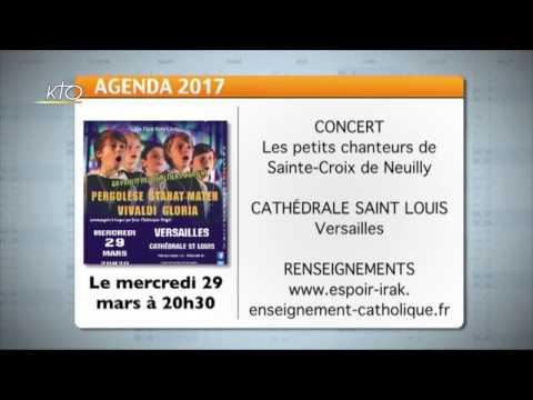 Agenda du 20 mars 2017