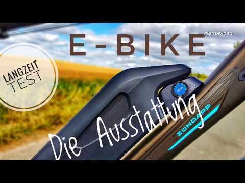 Supermarkt E-Bike Zündapp Green 4.0 Ausstattung | Langzeittest | Trio | e-novation