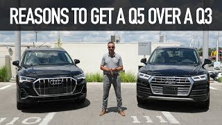 What makes the 2019 Audi Q5 better than the 2019 Audi Q3?