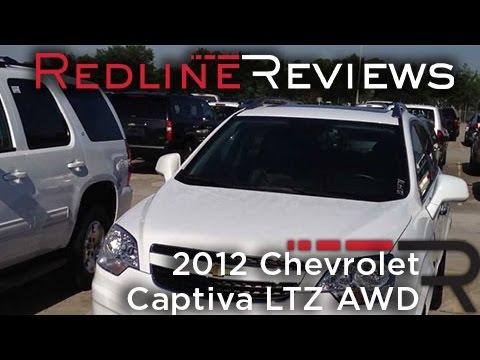 2012 Chevrolet Captiva LTZ AWD In-Depth Review
