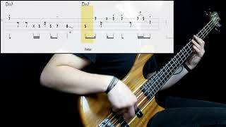 Chromeo - Over Your Shoulder (Bass Only) (Play Along Tabs In Video)
