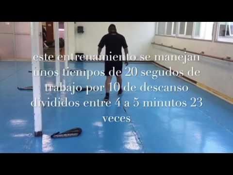 Preparación física: velocidad y fuerza bádminton Ymca