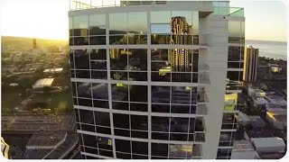 Quadcopter Crashes into Building, Recovers, Then Fails AGAIN