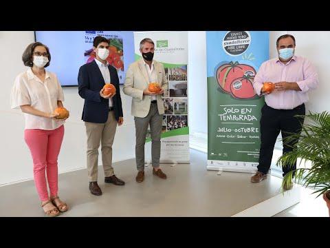 Presentación Mercado Sabor a Málaga Coín Tomate Huevo de Toro