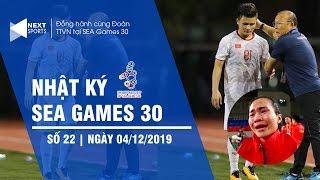 Nhật ký SEA Games 30 tối 4/12   Quang Hải chia tay SEA Games 30   NEXT SPORTS