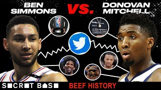 The Ben Simmons-Donovan Mitchell beef over Rookie of the Year became a feast for fans and brands thumbnail