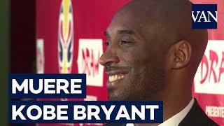Muere Kobe Bryant a los 41 años