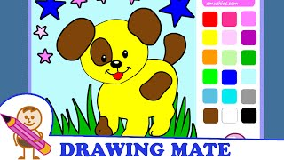 Puppy Coloring Pages Coloring Dog ♥ Kolorowanki Malowanki dla dzieci Piesek Pies