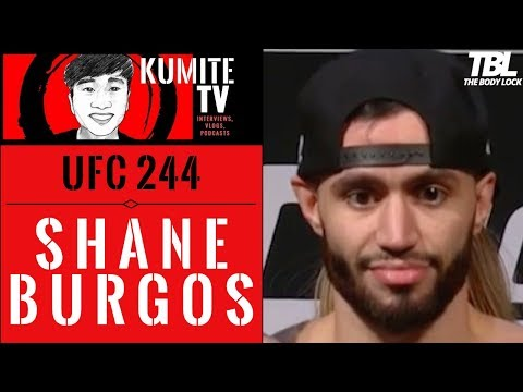 Shane Burgos: I'm looking to take [Makwan Amirkhani] out whether he's a d!ck or a cool guy