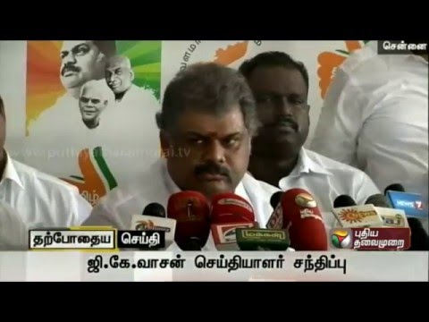 TMC-leader-G-K-Vasan-addressing-reporters-in-Chennai-speaking-about-replacements