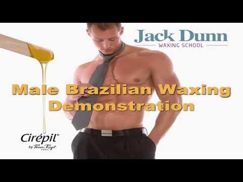 waxing brazilian ass