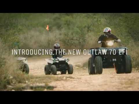 2021 Polaris Outlaw 70 EFI in Barre, Massachusetts - Video 1