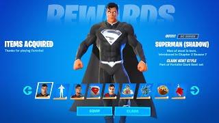 How to Unlock Superman Skin in Fortnite (All Superman Challenges Reward)