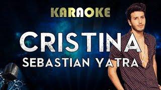 Sebastián Yatra   Cristina (Karaoke Instrumental)