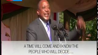 Uhuru pulls a surprise, says only God knows who will become Kenyan president in 2022