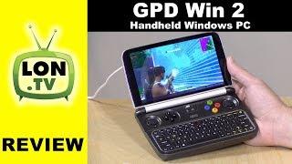 GPD Win 2 Review: Handheld Windows PC With Intel Core M3 Processor