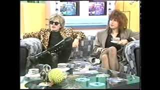 The Divinyls interview 1988 on Saturday Morning Live