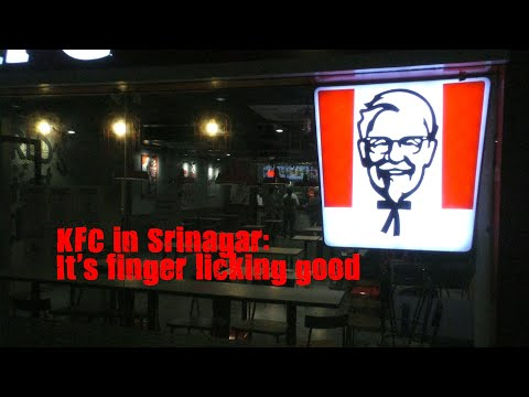 KFC in Srinagar: It's finger licking good