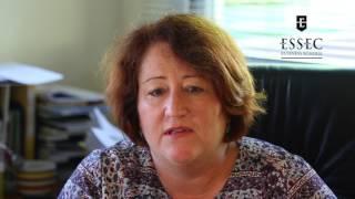 """Anne Perrier, chef du service administratif et financier de l'IFM : """" J'ai choisi l'ESSEC pour"""