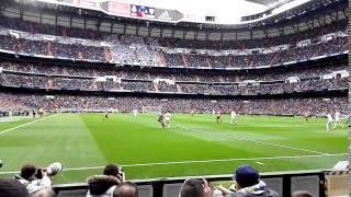 Jugada del Athletic en el Bernabéu