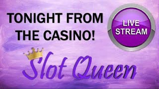 🔴 LIVE TONIGHT ! It's Slot Queen Trivia time 🥳 YOU win YOU pick the slot 🎰