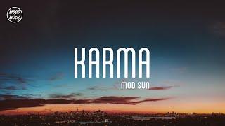 """MOD SUN """"Karma"""" (lyrics) - YouTube"""