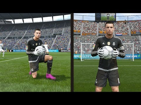 When ●Cristiano Ronaldo is a goalkeeper● and ●David de Gea is a Dribbler