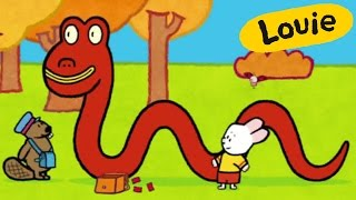 Monstruo - Louie dibujame al Monstruo Lago Ness | Dibujos animados para niños