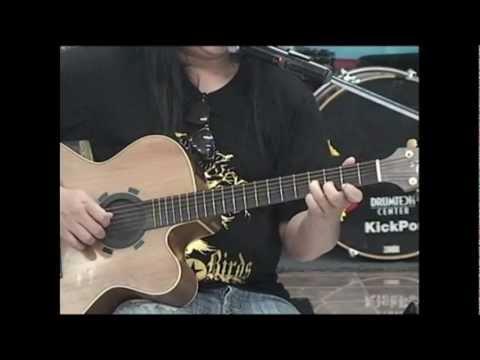 Guitar Chord G,Am,Bm,C,D,Em / การจับคอร์ดในคีย์ G