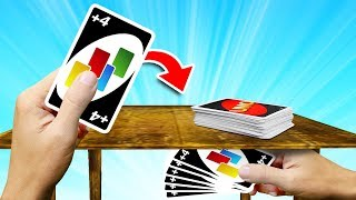 I CHEATED Uno With HIDDEN CARDS!