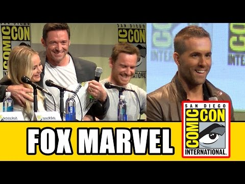 Fox Marvel Comic Con Panels - Deadpool, X-Men Apocalypse, Fantastic Four | MTW