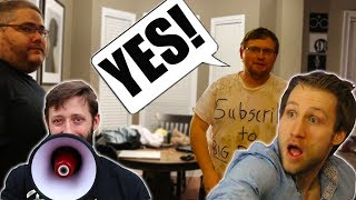 He Said YES to EVERYTHING for 24 HOURS - Challenge! (ft. McJuggernuggets & Kidbehindacamera)