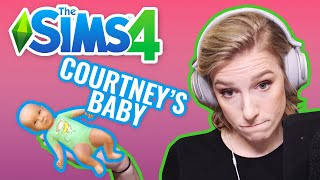 A SMOSH BABY IS BORN | Courtney Plays Sims 4 — Pt. 4