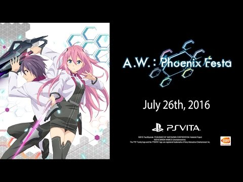 A.W.: Phoenix Festa - Launch Trailer | Vita thumbnail