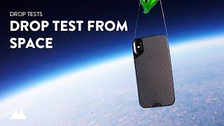 Carbon Fibre Protective Mous Case Drops From Space