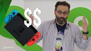Acierta Nintendo con el precio de su Nintendo Switch