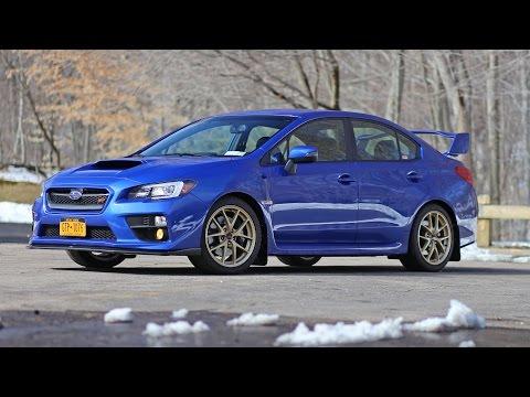 2015 Subaru WRX STI launch edition review