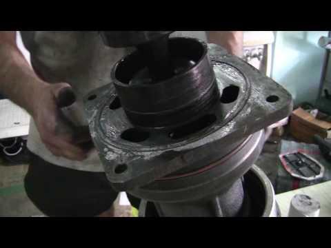 ремонт вибротрамбовки (пятки) замена гофропыльника