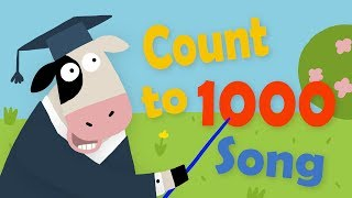 Number And Counting Song | Learn Counting To 1000 | Math For 2nd Grade | Kids Academy