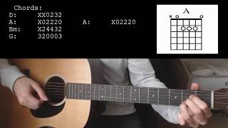 Mike Posner   Move On EASY Guitar Tutorial With Chords  Lyrics