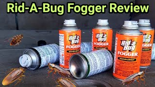 Rid-a-Bug Fogger Review. Vehicle has Roach Infestation.