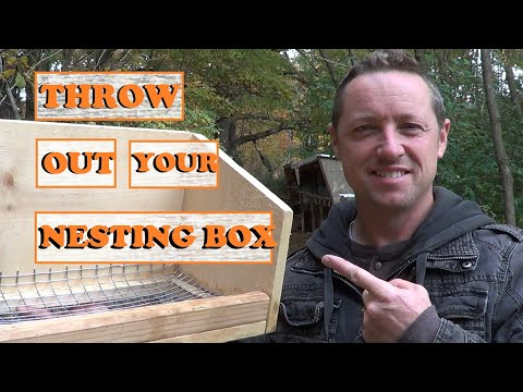 THROW OUT YOUR NESTING BOX