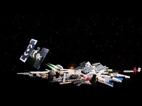 Vidéo LEGO Star Wars 75212 : Le Faucon Millenium du raid de Kessel