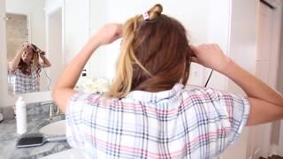 Super Easy Loose Waves Hair Tutorial