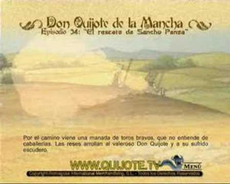Videocuento Epis.#34 Resumen DON QUIJOTE DE LA MANCHA (1979) - QUIXOTE